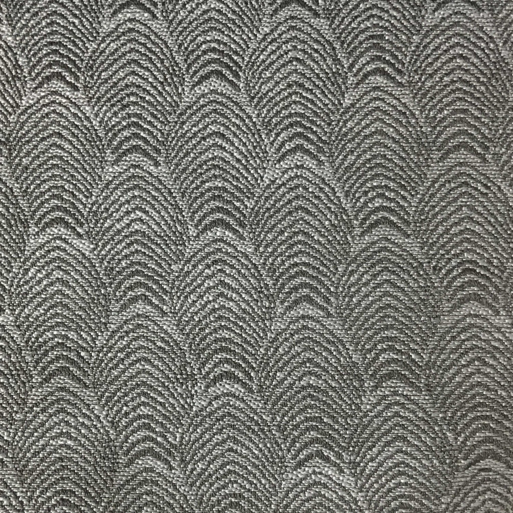 Carnaby - Jacquard Fabric Woven Designer Pattern Upholstery Fabric by the Yard - Available in 12 Colors - Feather - Top Fabric - 12
