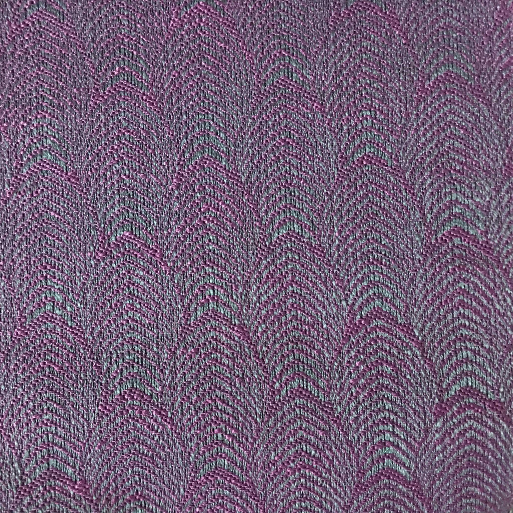 Carnaby - Jacquard Fabric Woven Designer Pattern Upholstery Fabric by the Yard - Available in 12 Colors - Fig - Top Fabric - 7