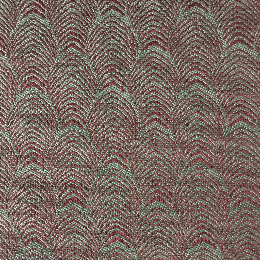 Carnaby - Jacquard Fabric Woven Designer Pattern Upholstery Fabric by the Yard - Available in 12 Colors - Henna - Top Fabric - 6