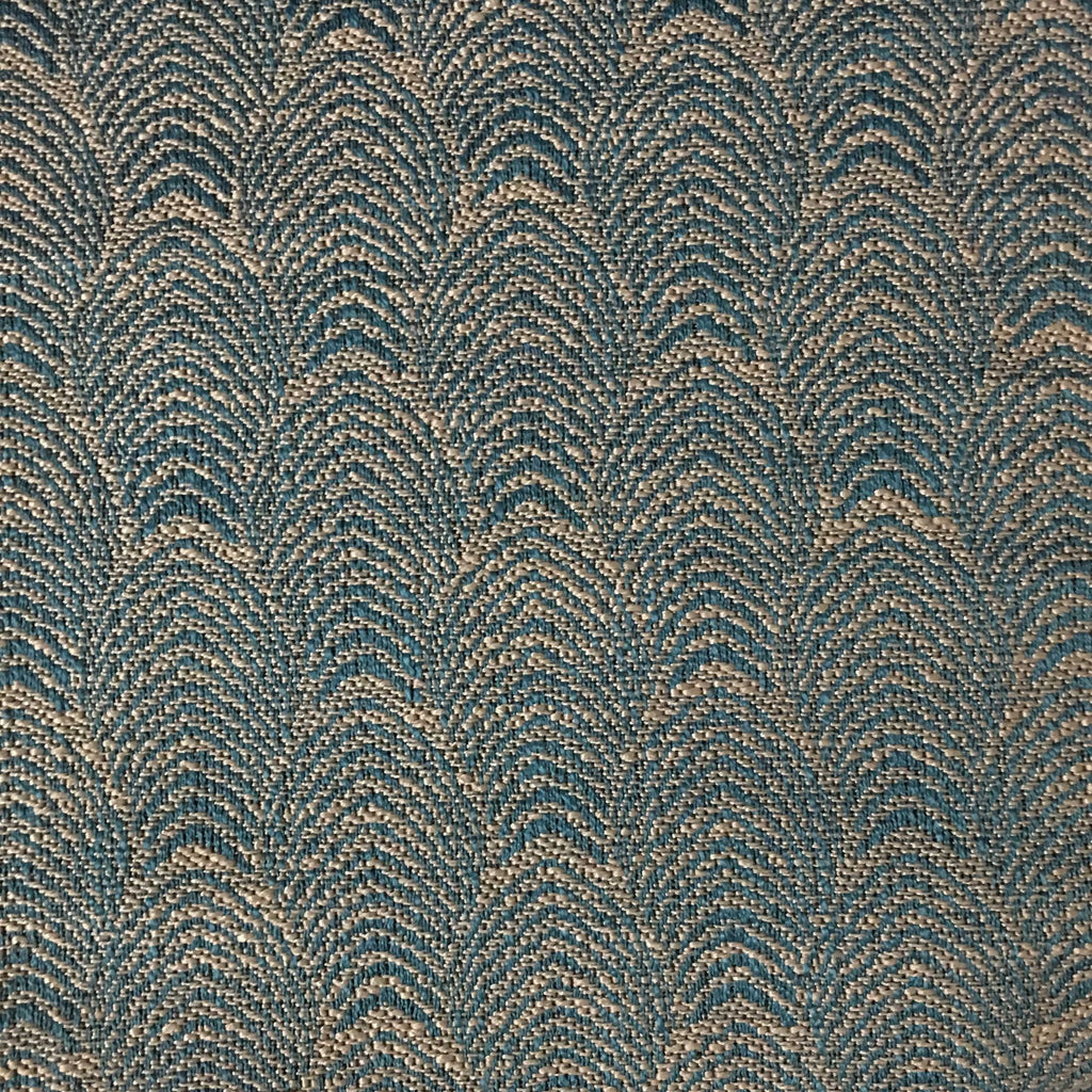 Carnaby - Jacquard Fabric Woven Designer Pattern Upholstery Fabric by the Yard - Available in 12 Colors - Laguna - Top Fabric - 3