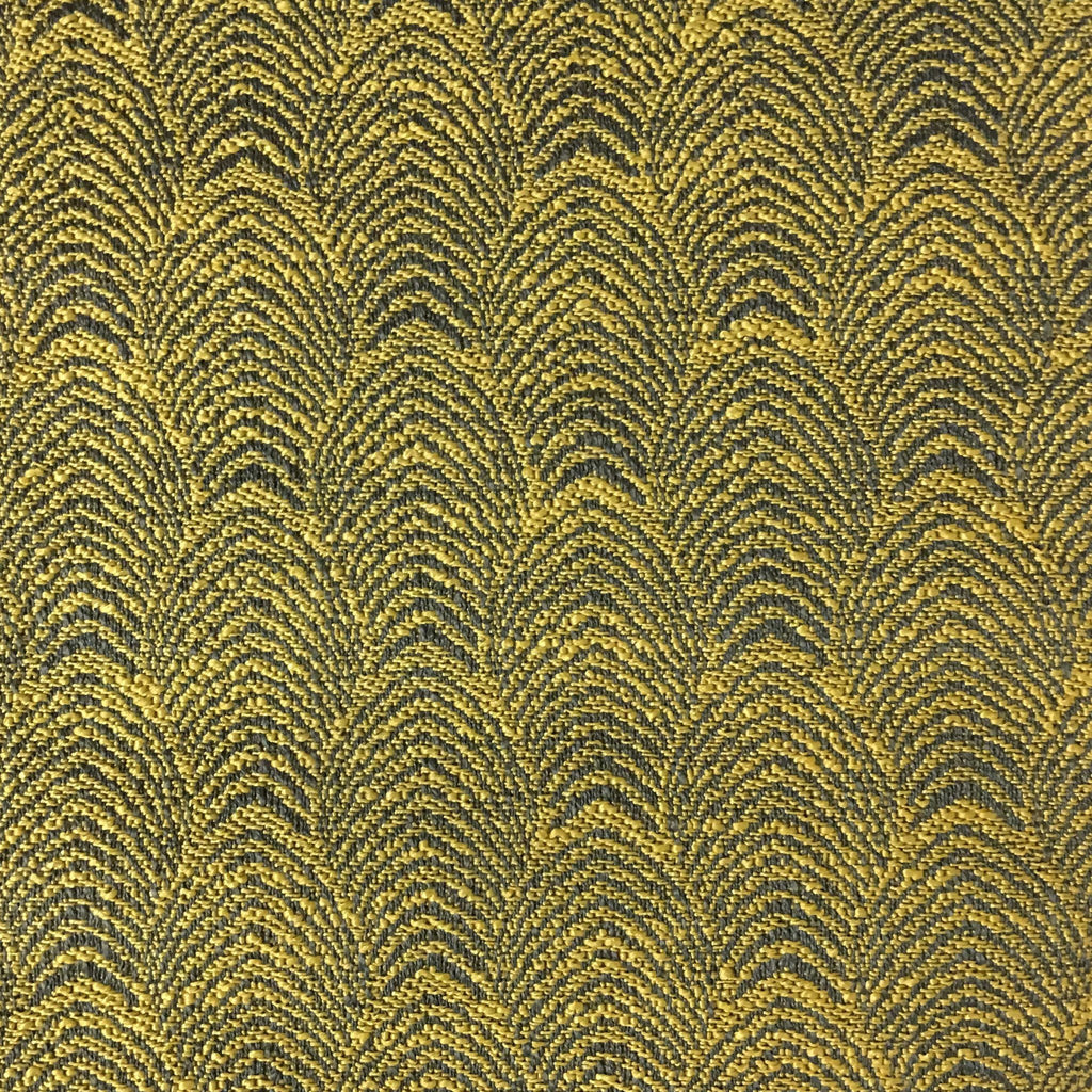 Carnaby - Jacquard Fabric Woven Designer Pattern Upholstery Fabric by the Yard - Available in 12 Colors - Sunny - Top Fabric - 11