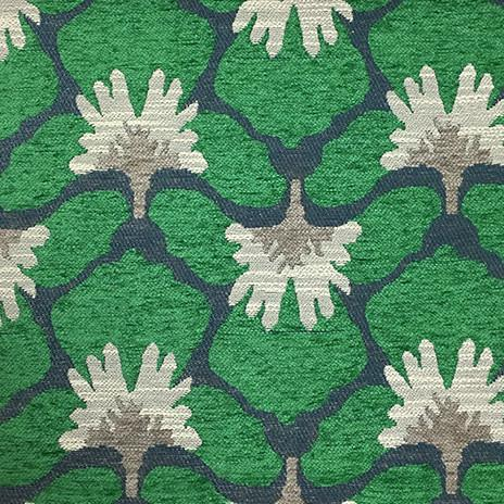Chelsea - Heavy Chenille Fabric Upholstery Fabric by the Yard - Available in 8 Colors - Emerald - Top Fabric - 8