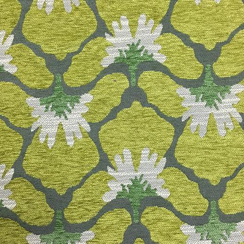 Chelsea - Heavy Chenille Fabric Upholstery Fabric by the Yard - Available in 8 Colors - Grass - Top Fabric - 2
