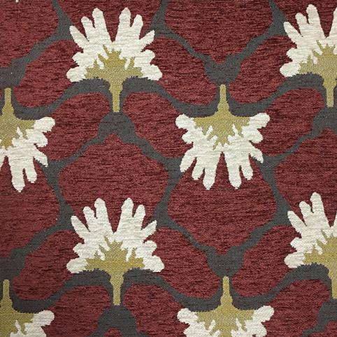 Chelsea - Heavy Chenille Fabric Upholstery Fabric by the Yard - Available in 8 Colors - Henna - Top Fabric - 3