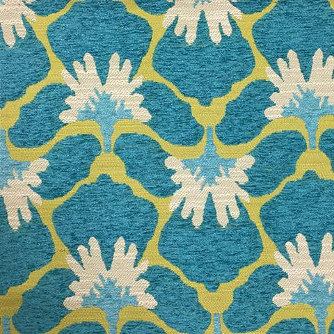 Chelsea - Heavy Chenille Fabric Upholstery Fabric by the Yard - Available in 8 Colors - Laguna - Top Fabric - 5