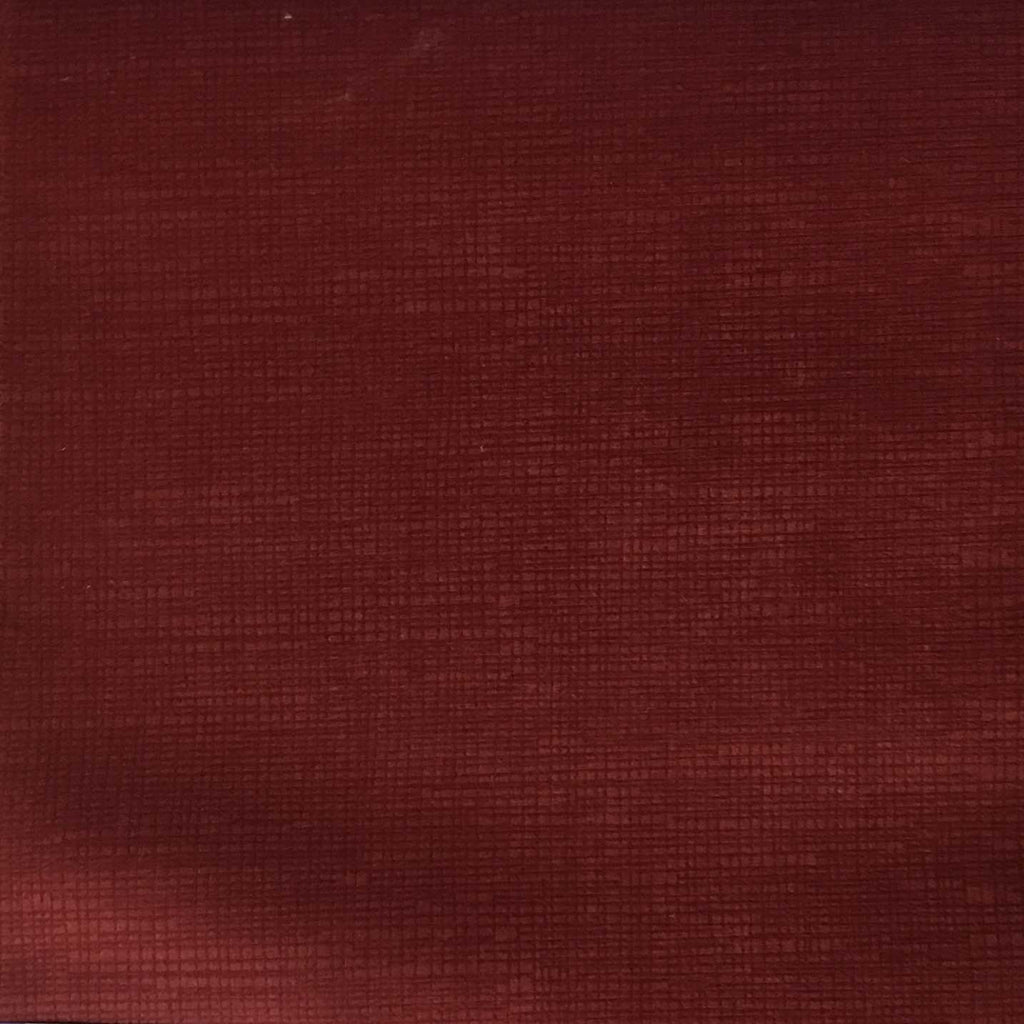 Creek - Textured Microfiber Velvet Upholstery Fabric by the Yard - Available in 20 Colors - Henna - Top Fabric - 7