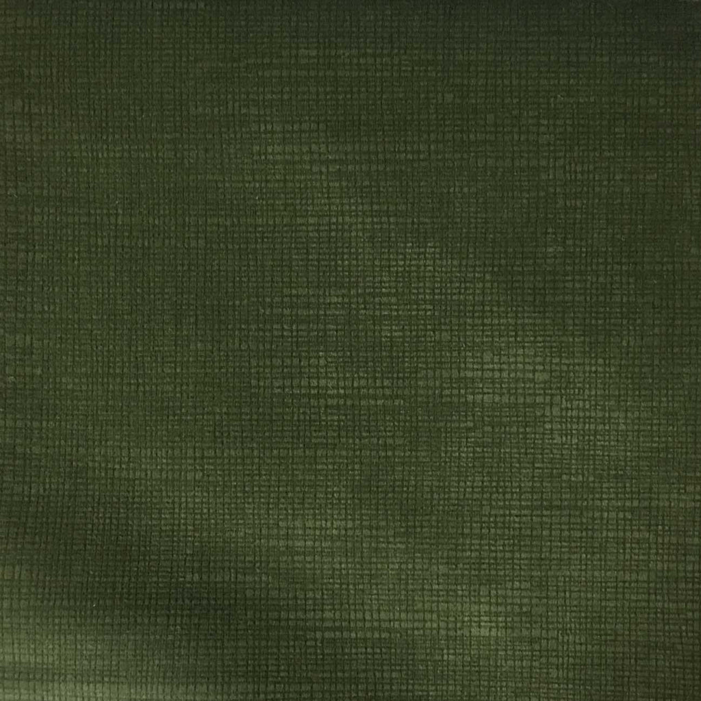 Creek - Textured Microfiber Velvet Upholstery Fabric by the Yard - Available in 20 Colors - Kelp - Top Fabric - 5