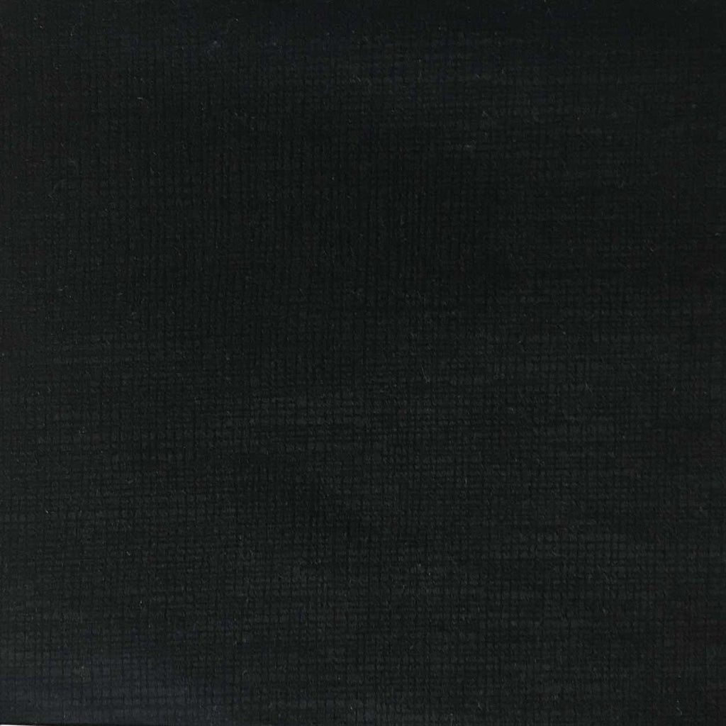 Creek - Textured Microfiber Velvet Upholstery Fabric by the Yard - Available in 20 Colors - Noir - Top Fabric - 20