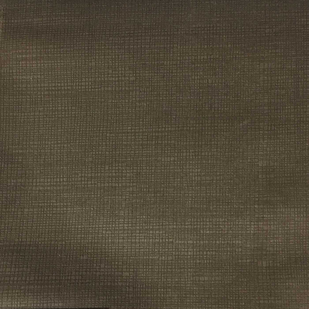 Creek - Textured Microfiber Velvet Upholstery Fabric by the Yard - Available in 20 Colors - Otter - Top Fabric - 16