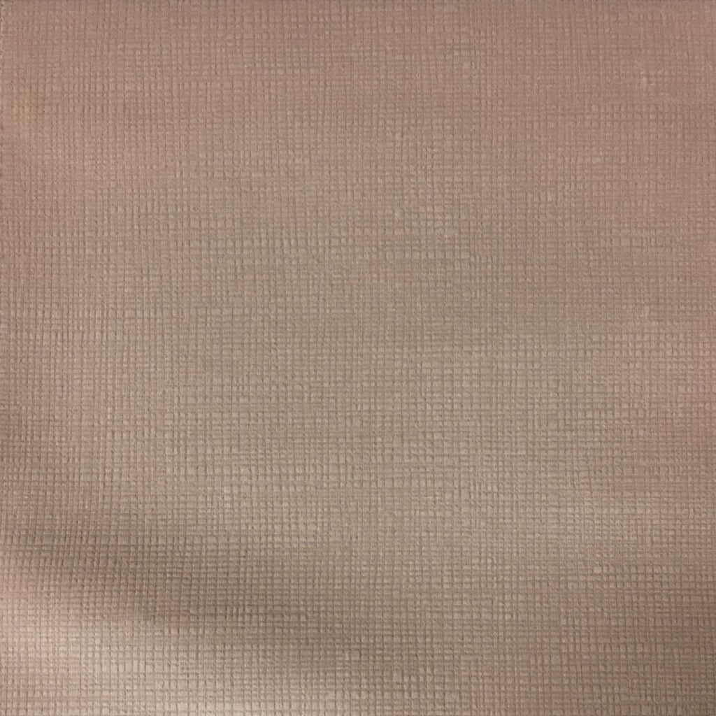 Creek - Textured Microfiber Velvet Upholstery Fabric by the Yard - Available in 20 Colors - Rosequartz - Top Fabric - 8