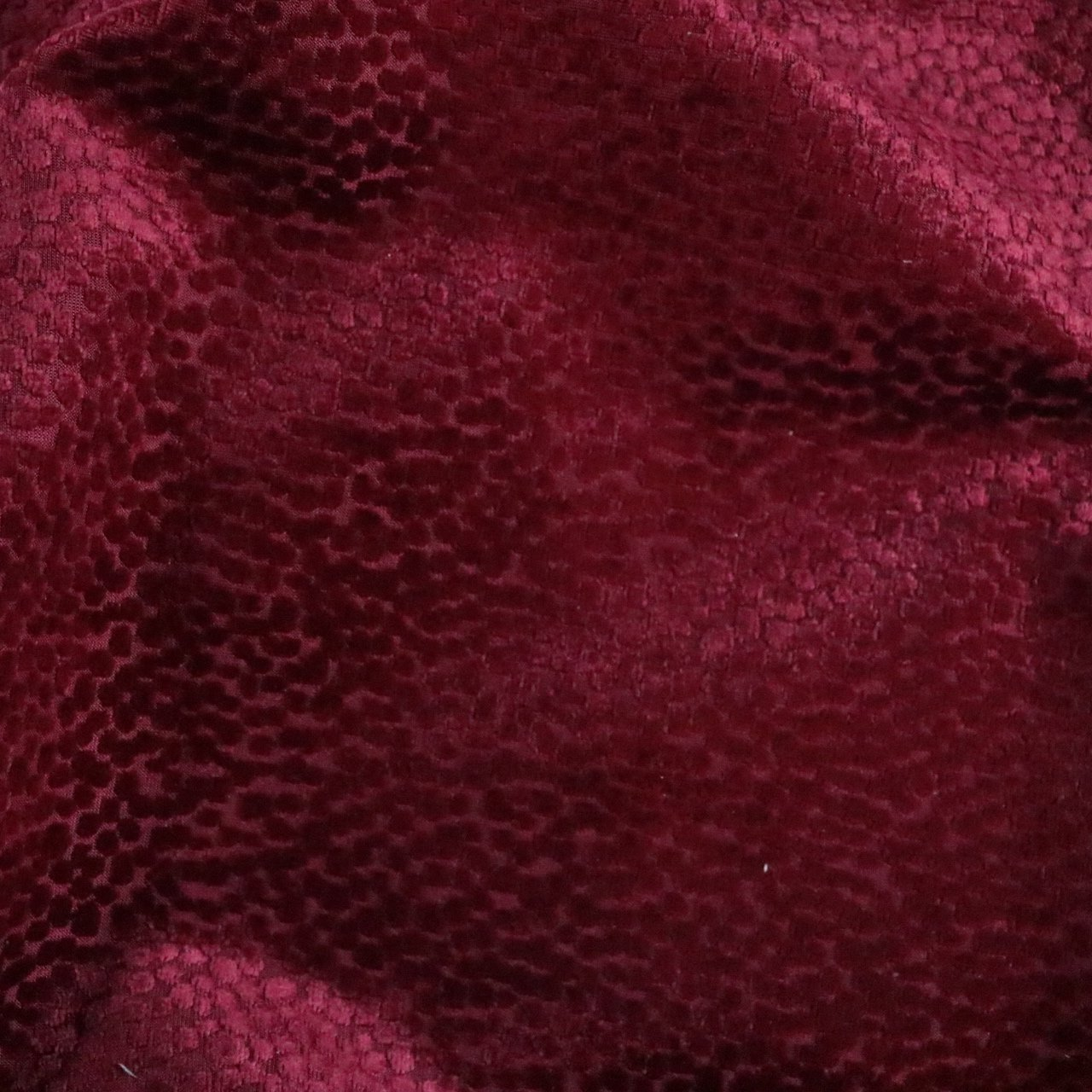 Duchess Burn Out Velvet Upholstery Fabric By The Yard