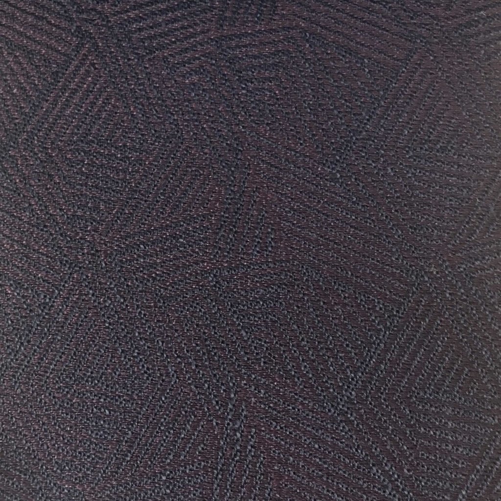 Enford - Jacquard Fabric Woven Texture Designer Pattern Upholstery Fabric by the Yard - Available in 8 Colors - Fig - Top Fabric - 5