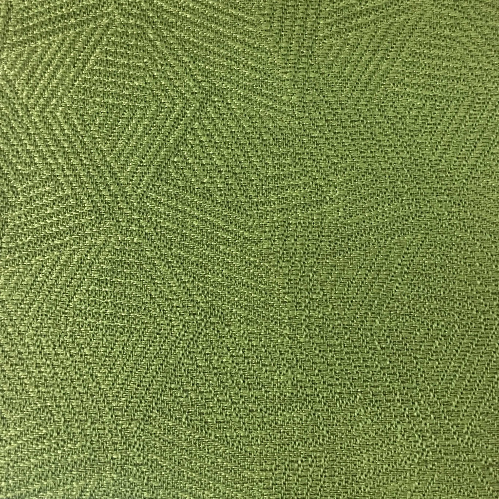 Enford - Jacquard Fabric Woven Texture Designer Pattern Upholstery Fabric by the Yard - Available in 8 Colors - Grass - Top Fabric - 8