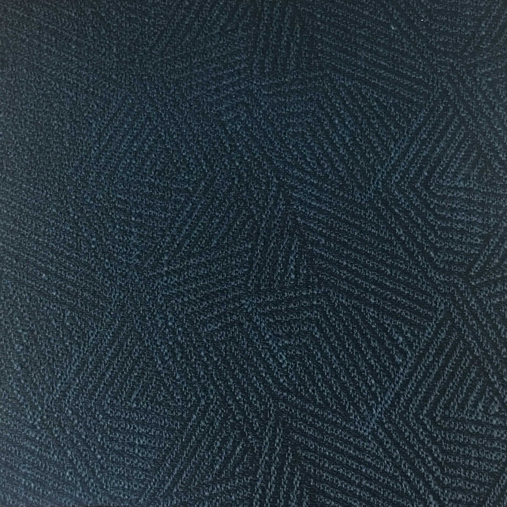 Enford - Jacquard Fabric Woven Texture Designer Pattern Upholstery Fabric by the Yard - Available in 8 Colors - Indigo - Top Fabric - 6