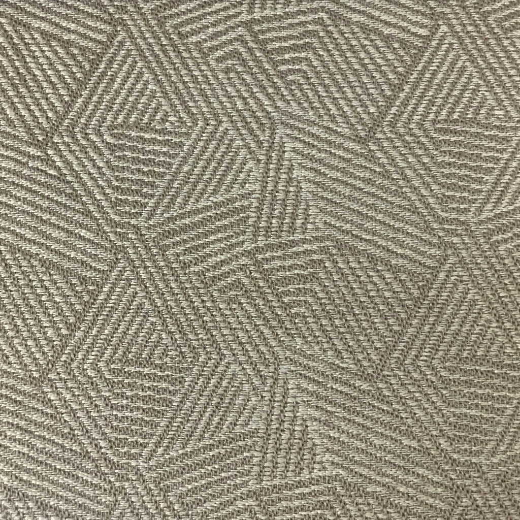 Suede Upholstery Fabric >> Enford - Jacquard Geometric Pattern Upholstery Fabric by the Yard