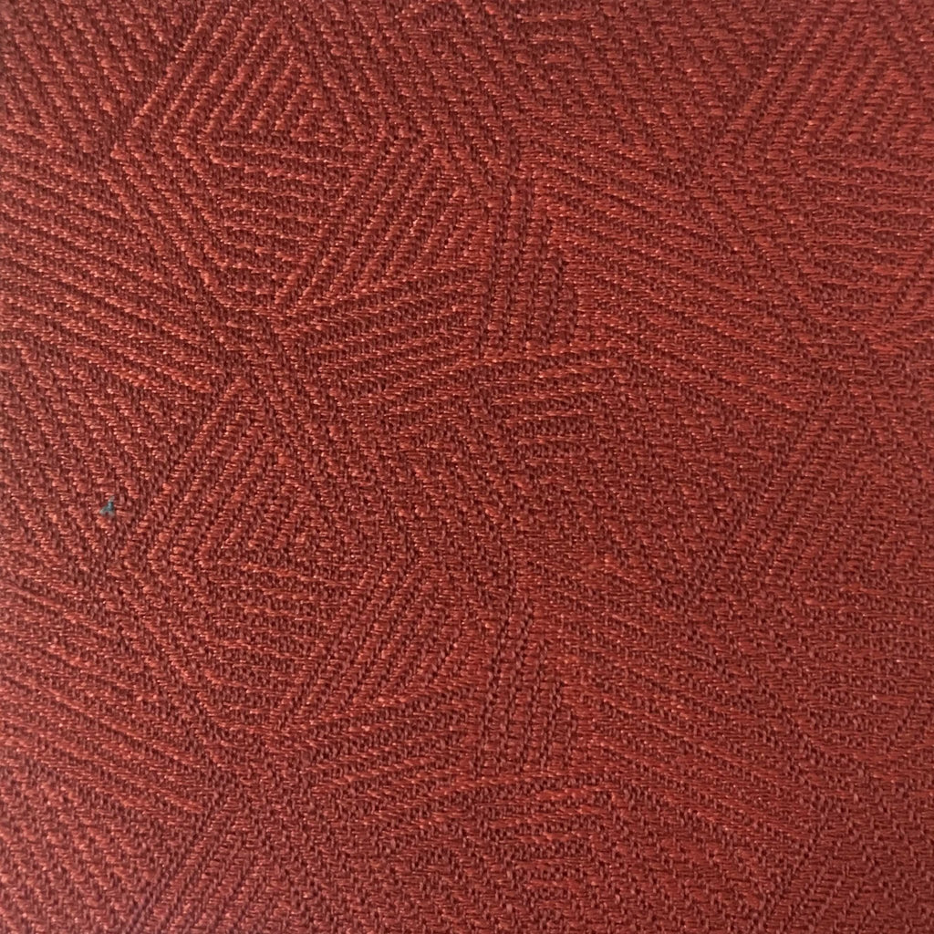 Enford - Jacquard Fabric Woven Texture Designer Pattern Upholstery Fabric by the Yard - Available in 8 Colors - Sangria - Top Fabric - 4