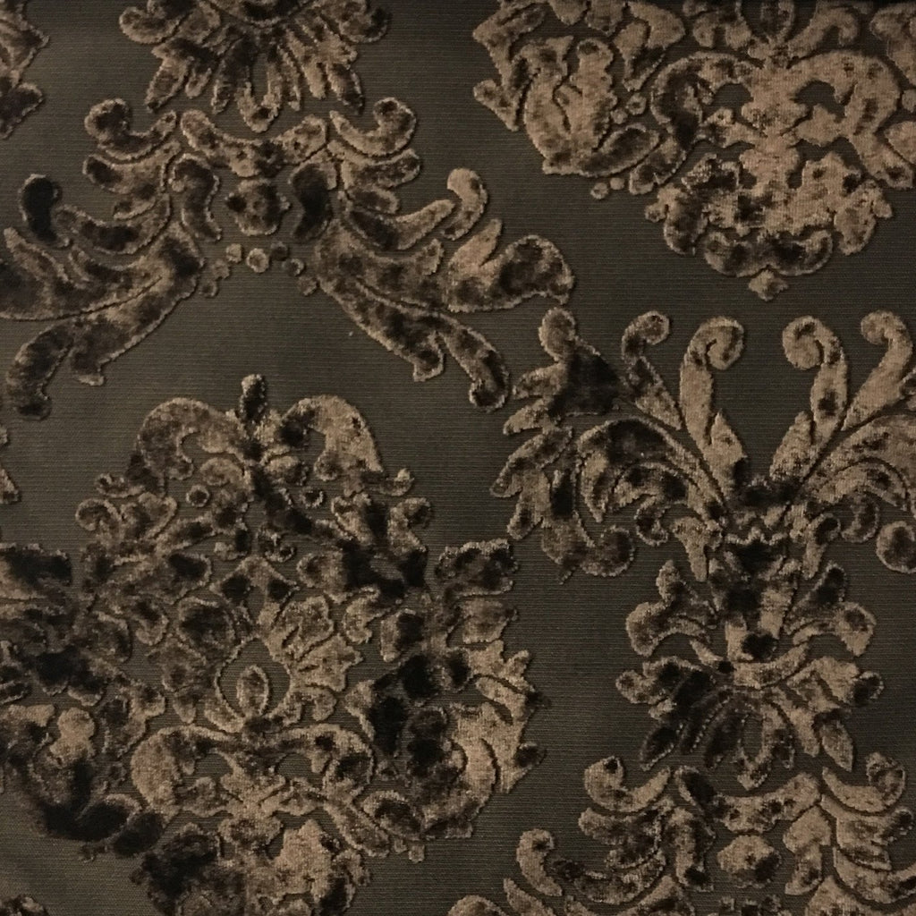 florence palace damask pattern burnout velvet upholstery fabric bty. Black Bedroom Furniture Sets. Home Design Ideas