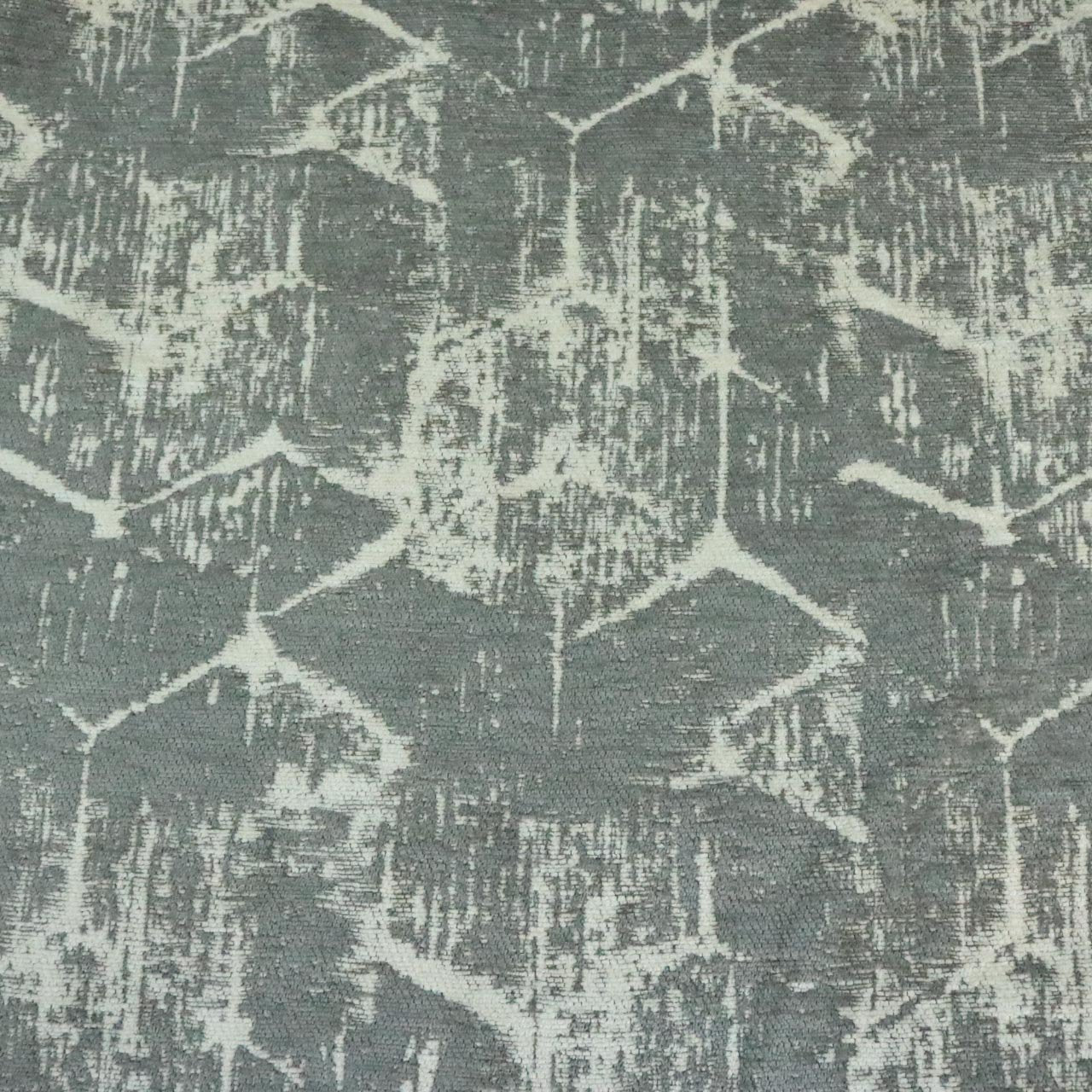 Francis Abstract Design On Chenille Jacquard Upholstery Fab