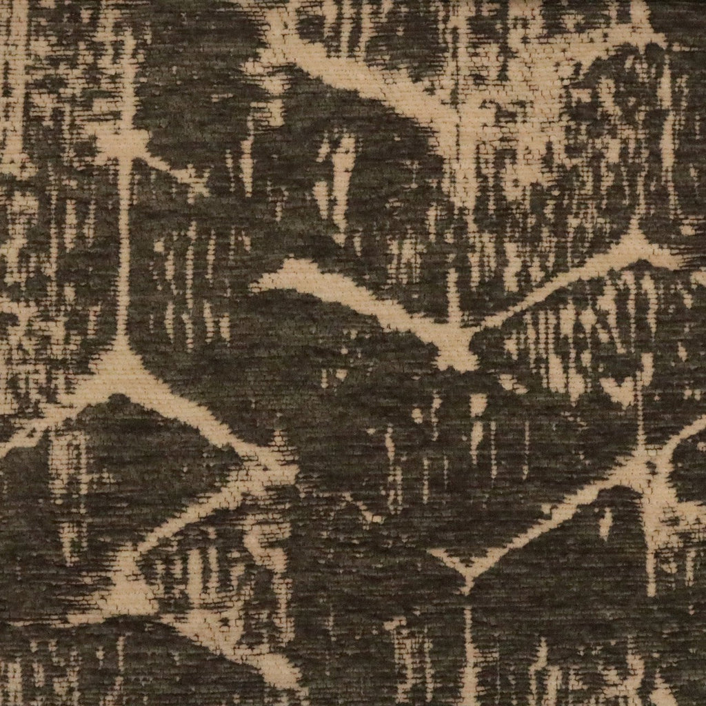 Francis - ABSTRACT DESIGN ON CHENILLE JACQUARD UPHOLSTERY FAB.