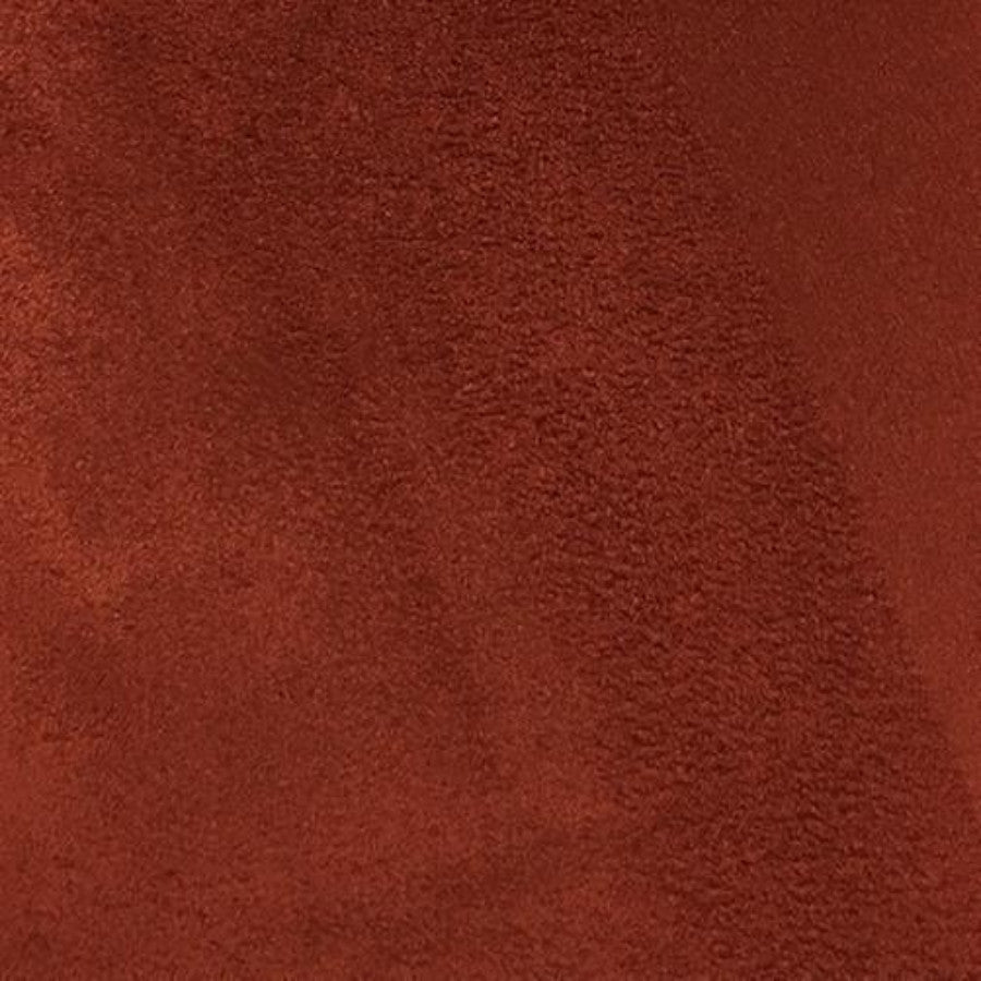 Heavy Suede - Microsuede Fabric by the Yard - Available in 69 Colors - Brick - Top Fabric - 20