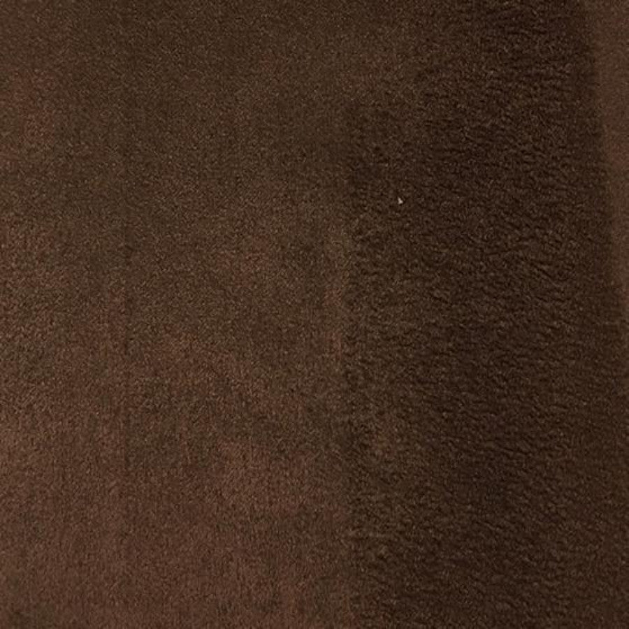 Heavy Suede - Microsuede Fabric by the Yard - Available in 69 Colors - Brown - Top Fabric - 44