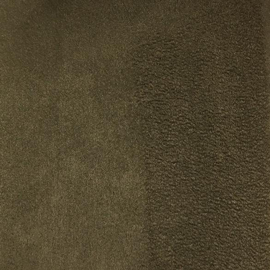 Heavy Suede - Microsuede Fabric by the Yard - Available in 69 Colors - Cafe - Top Fabric - 43