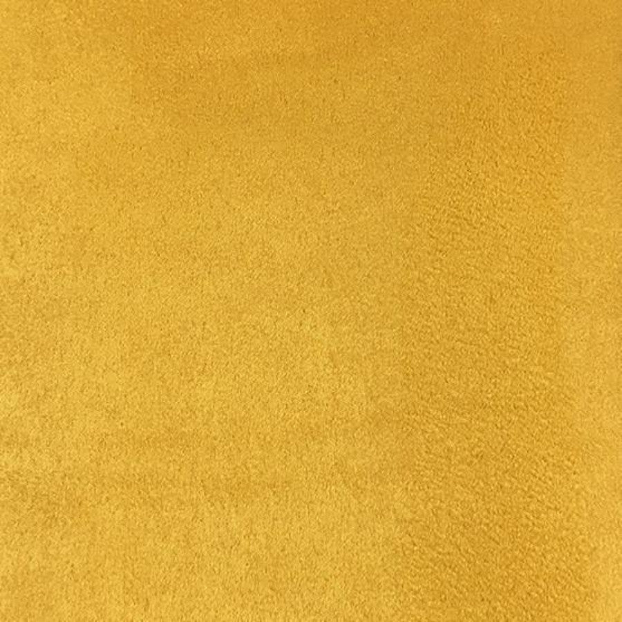 Heavy Suede - Microsuede Fabric by the Yard - Available in 69 Colors - Canary - Top Fabric - 40