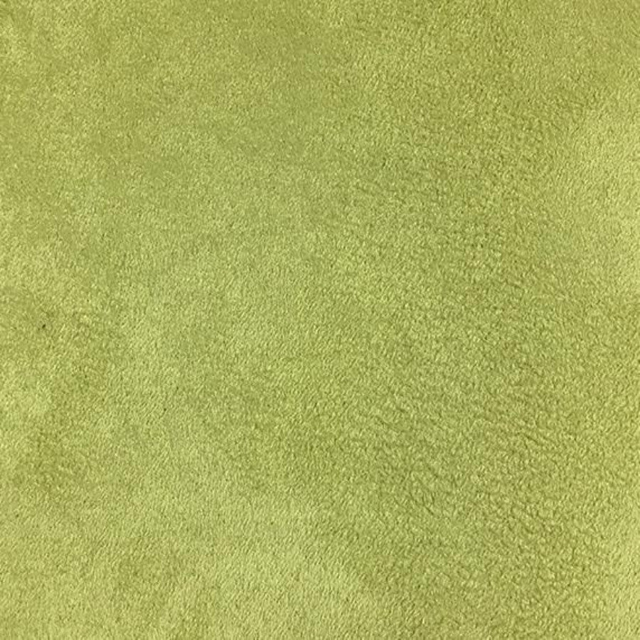 Heavy Suede - Microsuede Fabric by the Yard - Available in 69 Colors - Celery - Top Fabric - 53
