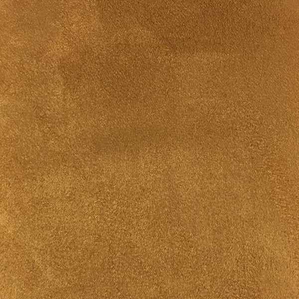 Heavy Suede - Microsuede Fabric by the Yard - Available in 69 Colors - Chestnut - Top Fabric - 33