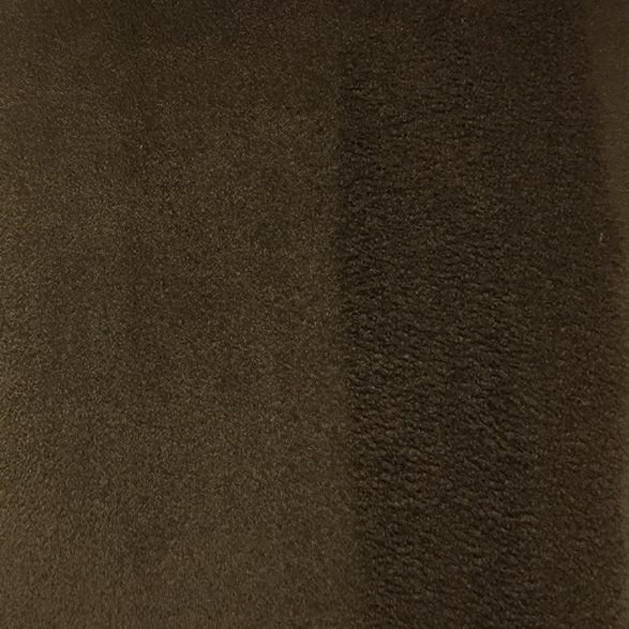 Heavy Suede - Microsuede Fabric by the Yard - Available in 69 Colors - Chocolate - Top Fabric - 45