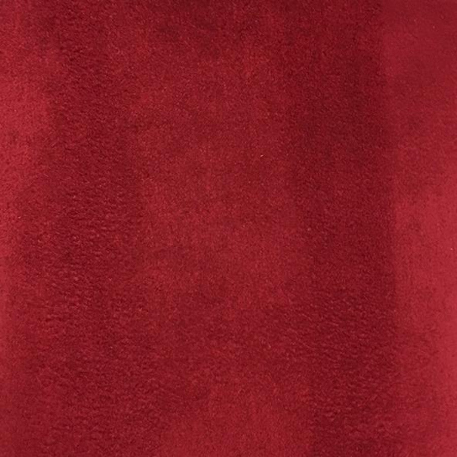 Heavy Suede - Microsuede Fabric by the Yard - Available in 69 Colors - Cinnabar - Top Fabric - 19