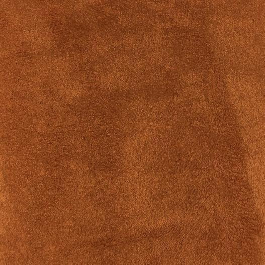Heavy Suede - Microsuede Fabric by the Yard - Available in 69 Colors - Copper - Top Fabric - 28