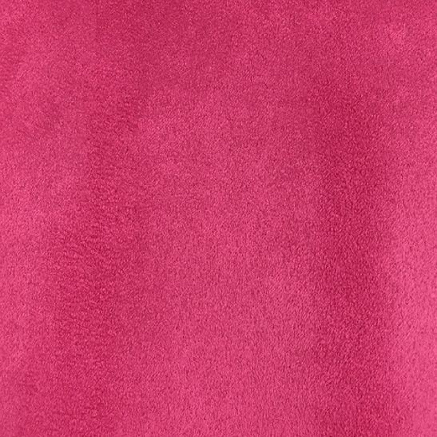 Heavy Suede - Microsuede Fabric by the Yard - Available in 69 Colors - Fuchsia - Top Fabric - 17
