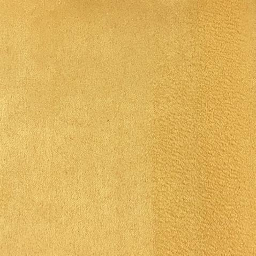 Heavy Suede - Microsuede Fabric by the Yard - Available in 69 Colors - Gold - Top Fabric - 38