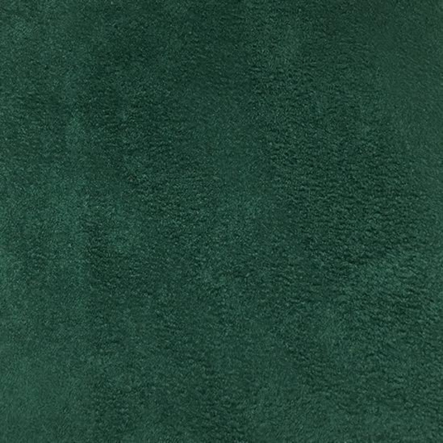 Heavy Suede - Microsuede Fabric by the Yard - Available in 69 Colors - Hunter Green - Top Fabric - 57