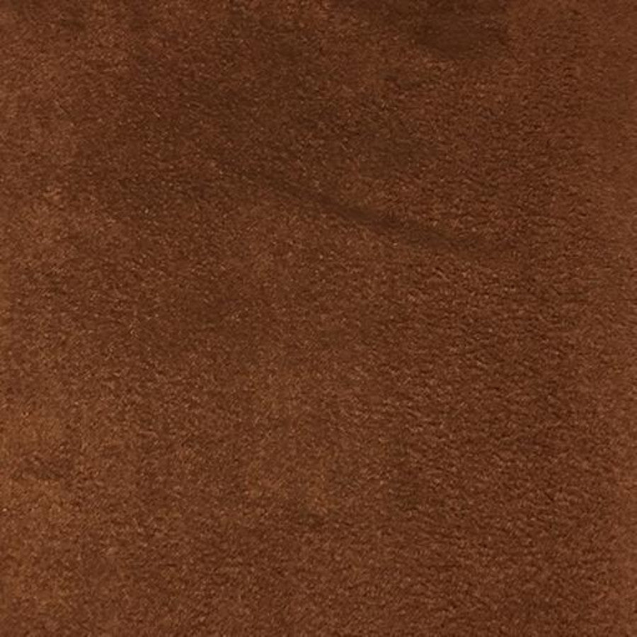 Heavy Suede - Microsuede Fabric by the Yard - Available in 69 Colors - Leather Brown - Top Fabric - 30