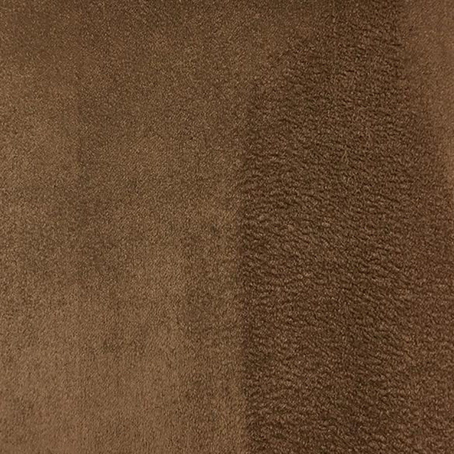 Heavy Suede - Microsuede Fabric by the Yard - Available in 69 Colors - Light Brown - Top Fabric - 32