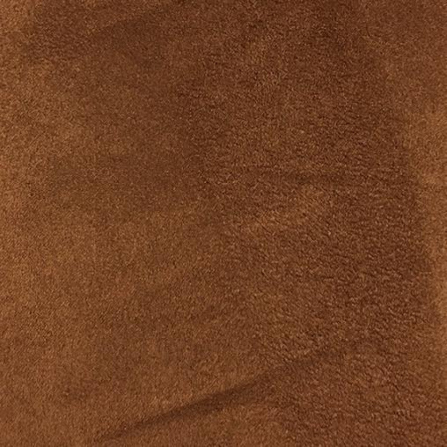 Heavy Suede - Microsuede Fabric by the Yard - Available in 69 Colors - Light Rust - Top Fabric - 29