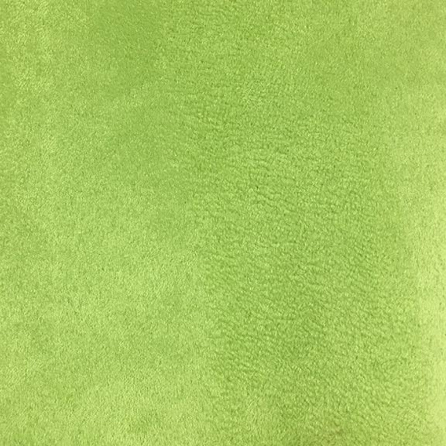 Heavy Suede - Microsuede Fabric by the Yard - Available in 69 Colors - Lime - Top Fabric - 54