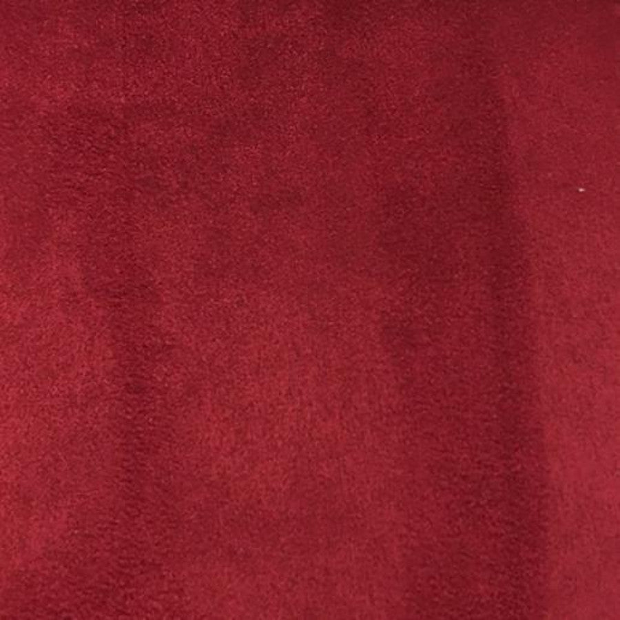 Heavy Suede - Microsuede Fabric by the Yard - Available in 69 Colors - Lipstick - Top Fabric - 22