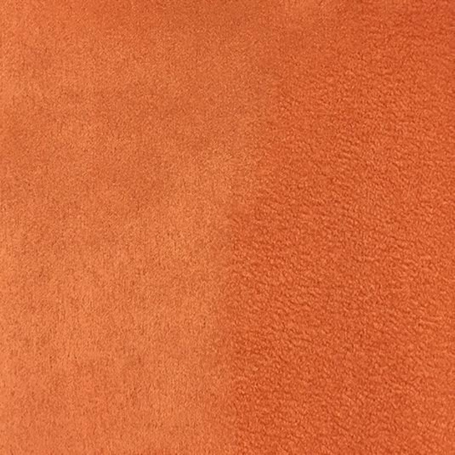 Heavy Suede - Microsuede Fabric by the Yard - Available in 69 Colors - Melon - Top Fabric - 26