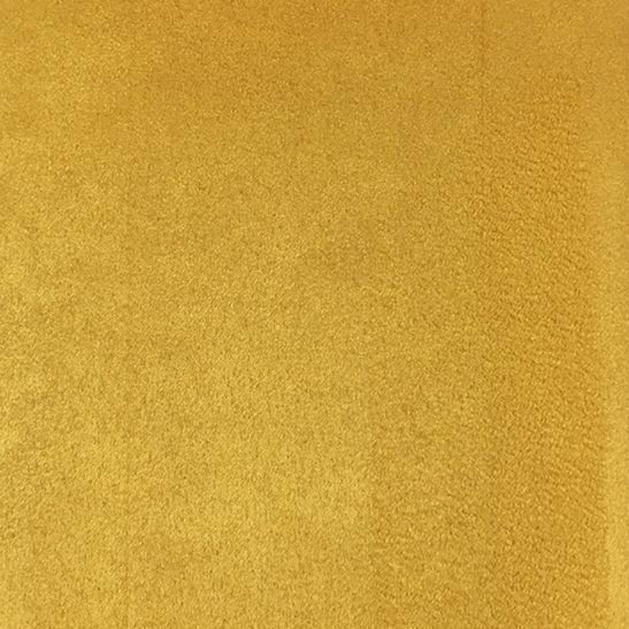 Heavy Suede - Microsuede Fabric by the Yard - Available in 69 Colors - Mustard - Top Fabric - 39
