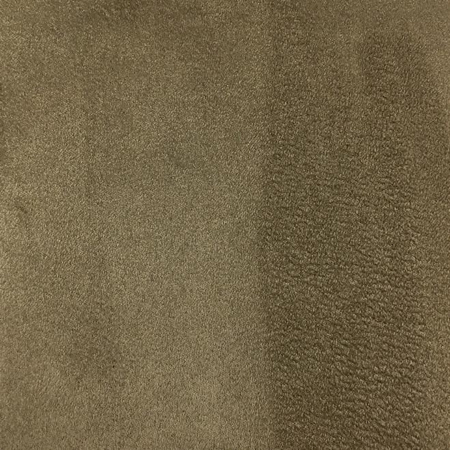 Heavy Suede - Microsuede Fabric by the Yard - Available in 69 Colors - New Mocha - Top Fabric - 42