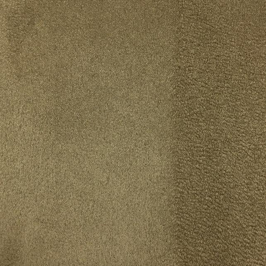 Heavy Suede - Microsuede Fabric by the Yard - Available in 69 Colors - Peat - Top Fabric - 35
