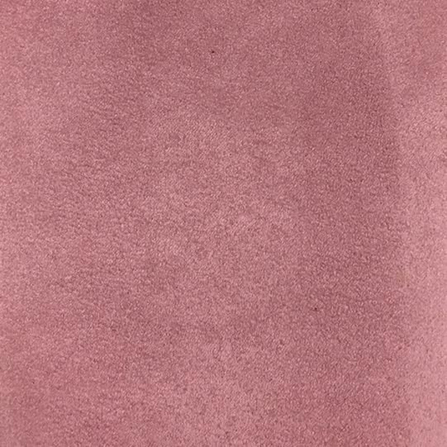 Heavy Suede - Microsuede Fabric by the Yard - Available in 69 Colors - Pink Petal - Top Fabric - 16
