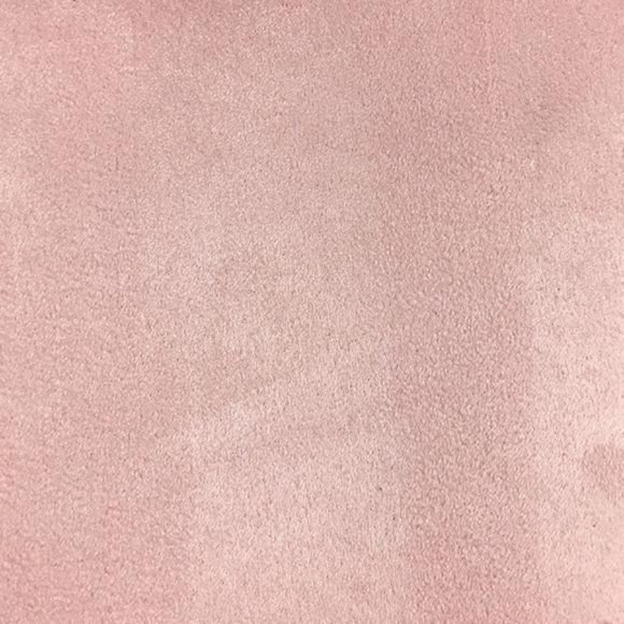 Heavy Suede - Microsuede Fabric by the Yard - Available in 69 Colors - Pink - Top Fabric - 15