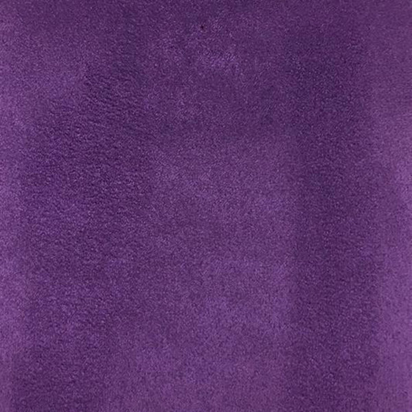 Heavy Suede - Microsuede Fabric by the Yard - Available in 69 Colors - Purple - Top Fabric - 10