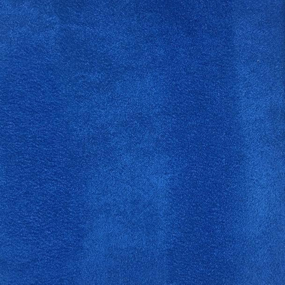 Heavy Suede - Microsuede Fabric by the Yard - Available in 69 Colors - Royal Blue - Top Fabric - 3