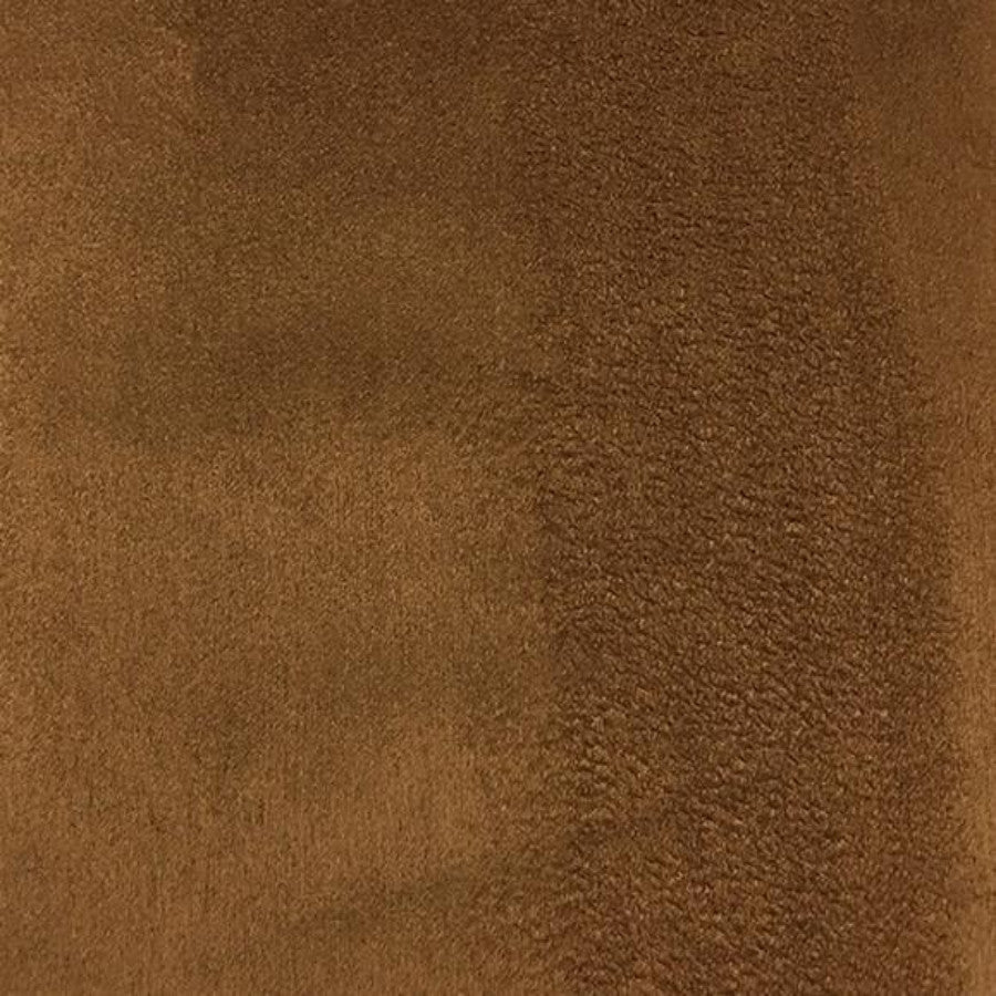 Heavy Suede - Microsuede Fabric by the Yard - Available in 69 Colors - Rust - Top Fabric - 31
