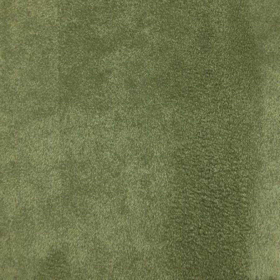 Heavy Suede - Microsuede Fabric by the Yard - Available in 69 Colors - Sage - Top Fabric - 51